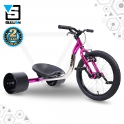 18″ JNR Drift Trike – Pink/Chrome