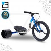 18″ JNR Drift Trike – Blue/Chrome