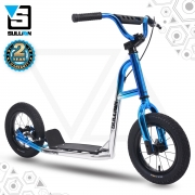 Terra Firma 12″ Scooter – Blue/Chrome