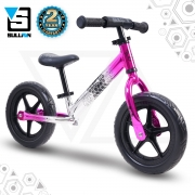 Evade 12″ Alloy Balance Bike – Pink/Chrome