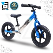Evade 12″ Alloy Balance Bike – Blue/Chrome