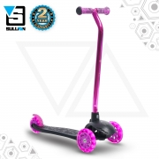 Lean N Glide Tri Scooter – Black/Pink