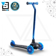Lean N Glide Tri Scooter – Black/Blue