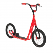 Sullivan Neon Red Big Wheel Scooter