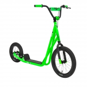 Sullivan Neon Green Big Wheel Scooter