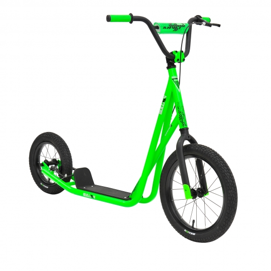 D5943 SULL Big Wheel Scooter 16&12inch Neon Green 45 P