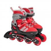 Sullivan Slide 49 Adjustable Inline Skate Red/Black