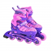 Sullivan Slide 49 Adjustable Inline Skate Purple/Pink