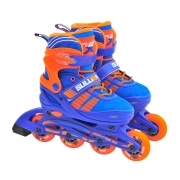 Sullivan Slide 49 Adjustable Inline Skate Blue/Orange