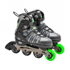 Sullivan X-Glide 53 Adjustable Inline Skate Black/Green/Gray