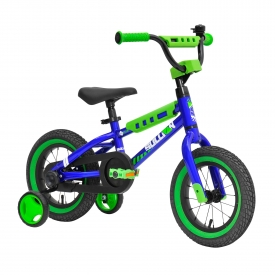 12″ Sullivan Safeguard Boys Bike Blue/Green