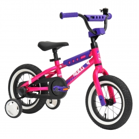 12″ Sullivan Safeguard Girls Bike Pink/Purple