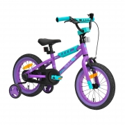14″ Sullivan Safeguard Bike Purple/Mint