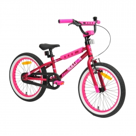 18″ Sullivan Safeguard Girls Bike Pink/Black