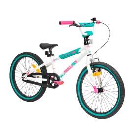 20″ Sullivan Safeguard Girls Bike White/Mint/Pink