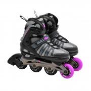 Sullivan X-Glide 53 Adjustable Inline Skate Black/Pink