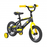 12″ Sullivan ST Bike Black/Yellow