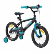 16″ Sullivan ST Bike Black/Teal