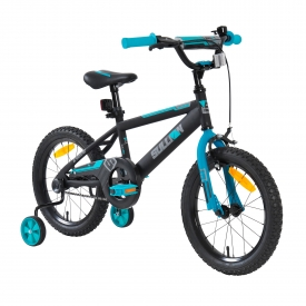 16″ Sullivan ST Girls Bike Black/Teal