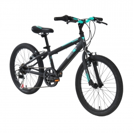 20″ Sullivan ST Girls Pavement Bike Black/Mint