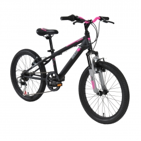 20″ Sullivan ST Girls MTB Bike Black/Pink/Gray
