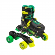 Sullivan 2 in 1 Conversion Skate Black/Green/Yellow