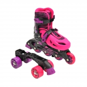 Sullivan 2 in 1 Conversion Skate Black/Pink