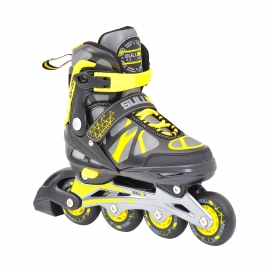Sullivan SS 225 Adjustable Inline Skate Black/Yellow