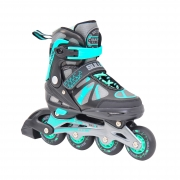 Sullivan SS 225 Adjustable Inline Skate Black/Teal
