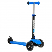 Fun Wheels Tri Scooter Blue
